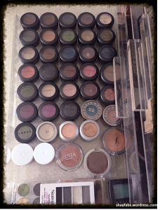 fifty shades of eyeshadows