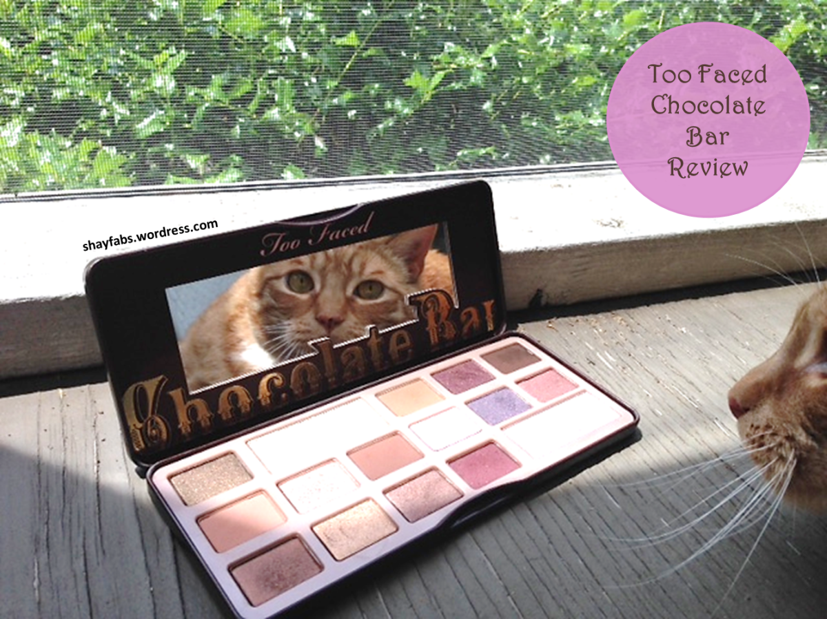 Too Faced Chocolate Bar Eye Shadow Palette Review