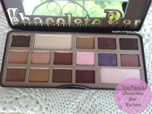 Too Faced Chocolate Bar Review