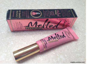 Too Faced Melted Metal Lipstick