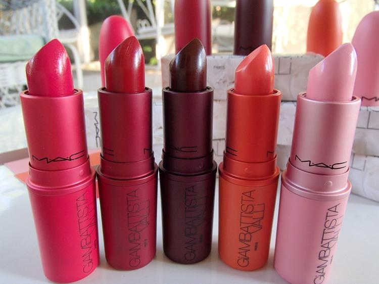 MAC Giambattista Valli Lipsticks