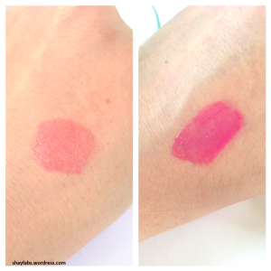 YSL Pop Water Glossy Stain 205 Swatch