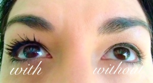 Upward Lash Mascara Swatch