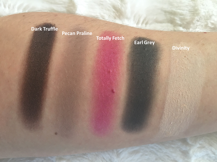 Too Faced Chocolate Bon Bons Swatches 3