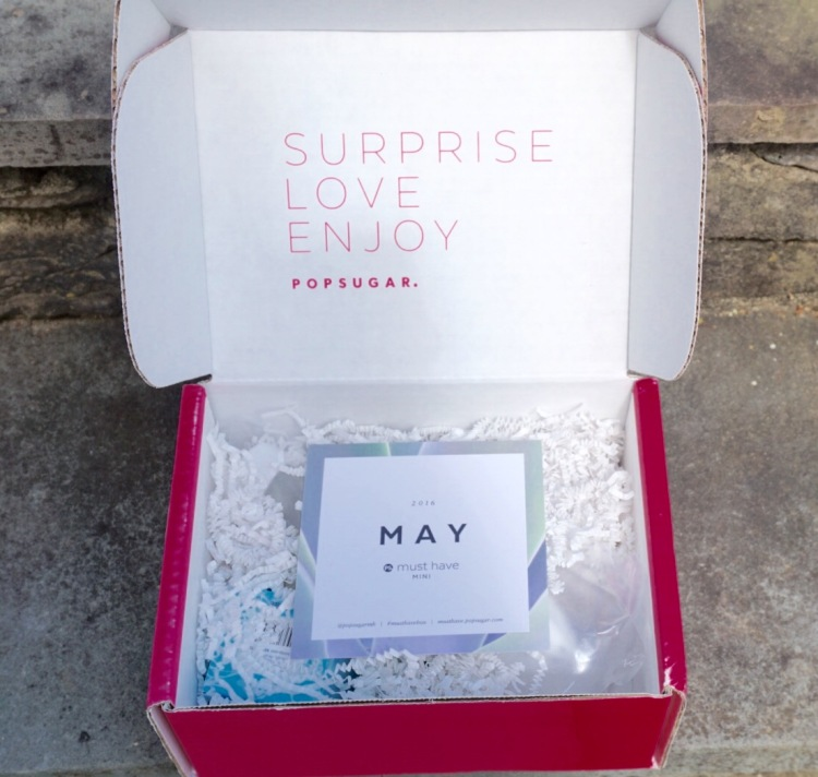 PopSugar Must Have Mini May 2016