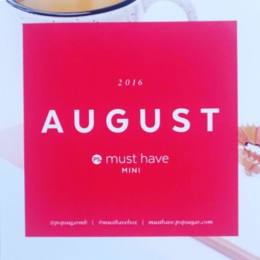 popsugar must have mini august 2016